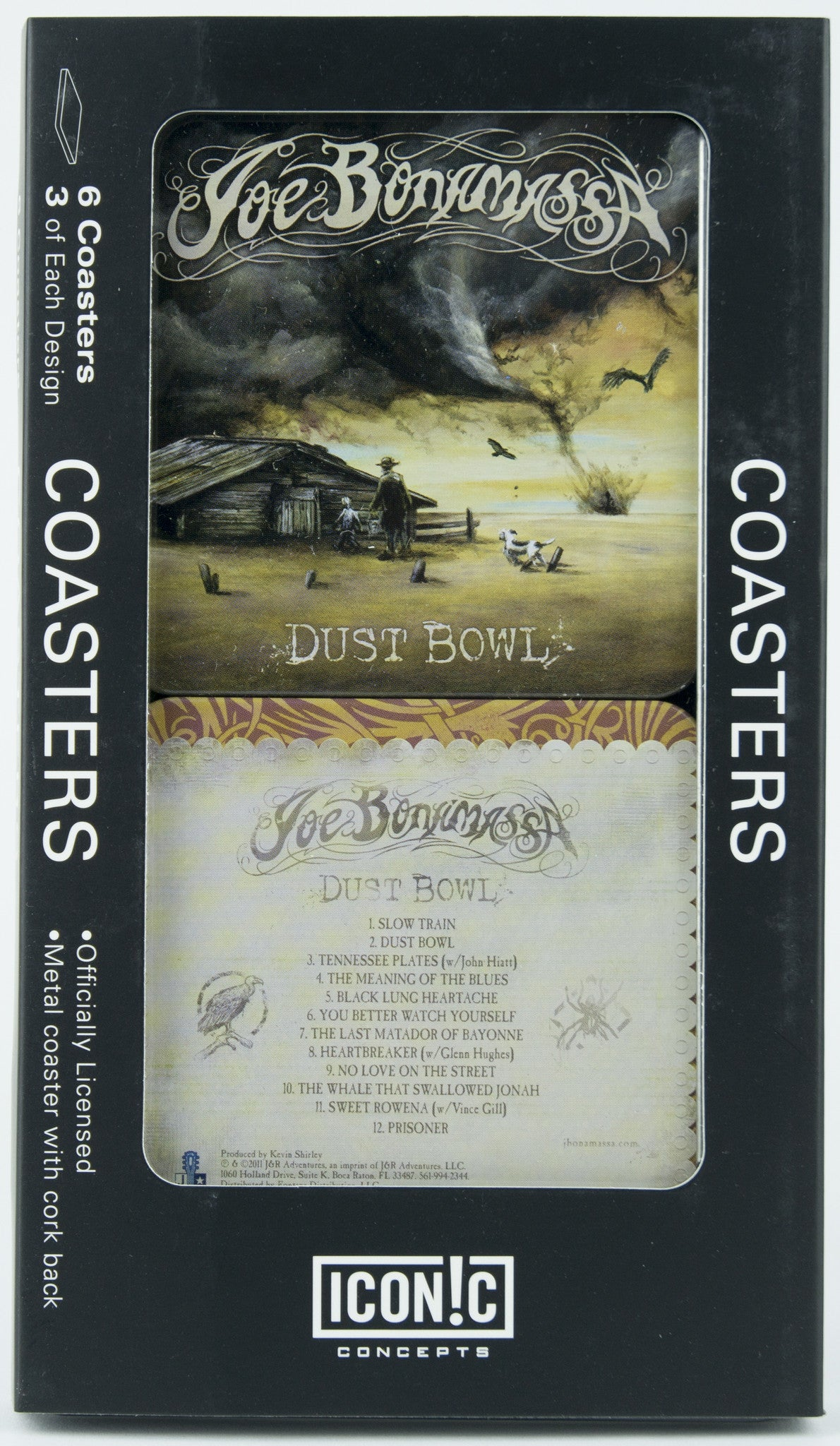 Joe Bonamassa Coasters - Dust Bowl