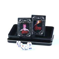 David Bowie Double Deck Playing Card Set w/Dice