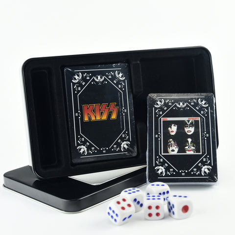 KISS® Dynasty Double Deck Playing Cards w/Dice Set