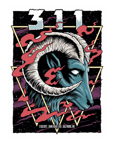 2017 Tour Baltimore Poster