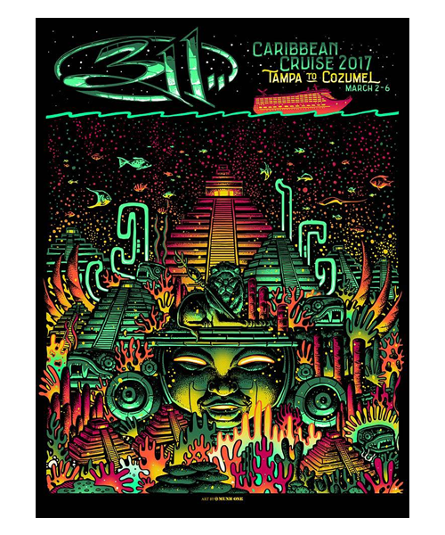 2017 Cruise Poster