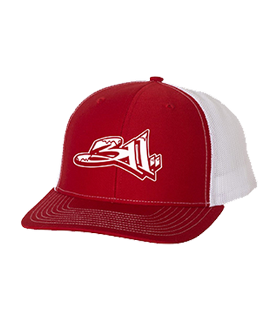 Holiday Trucker (Red/White)