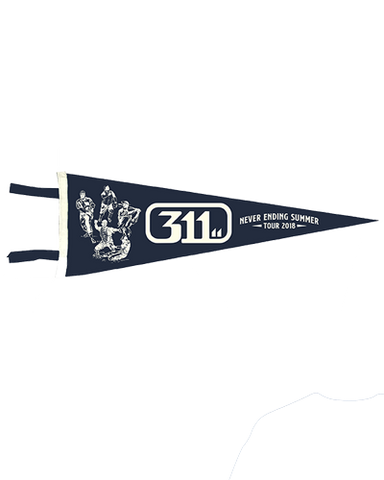 311 - Never Ending Summer Tour Pennant