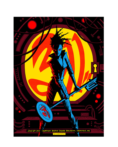 2015 Tour Hampton Beach Poster