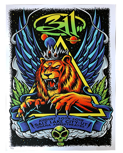2019 Tour - Salt Lake City, UT (8/20) Poster
