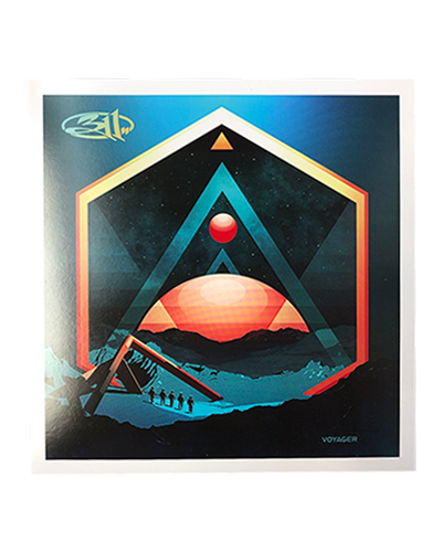 Voyager Lithograph