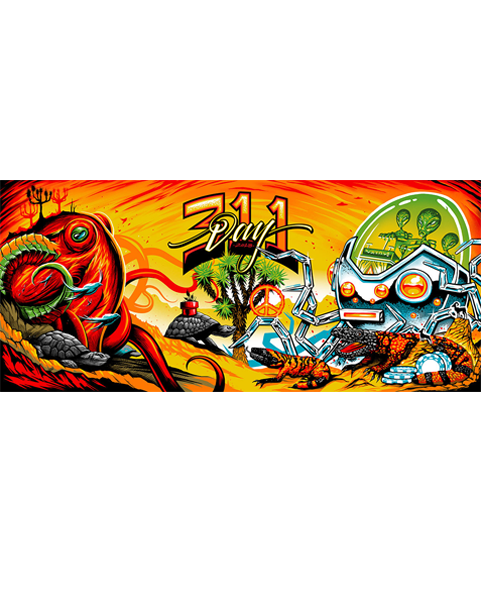 311 Day - Live Painting Poster