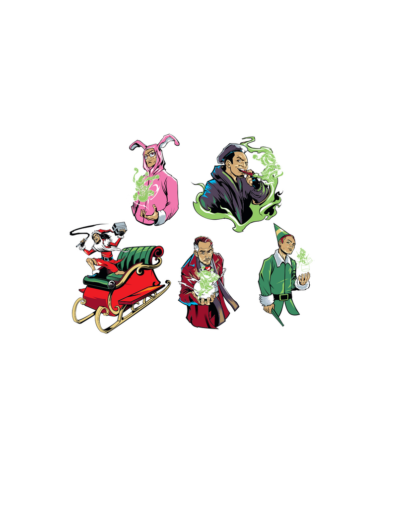 Holiday Sticker Pack (Pre-Order)