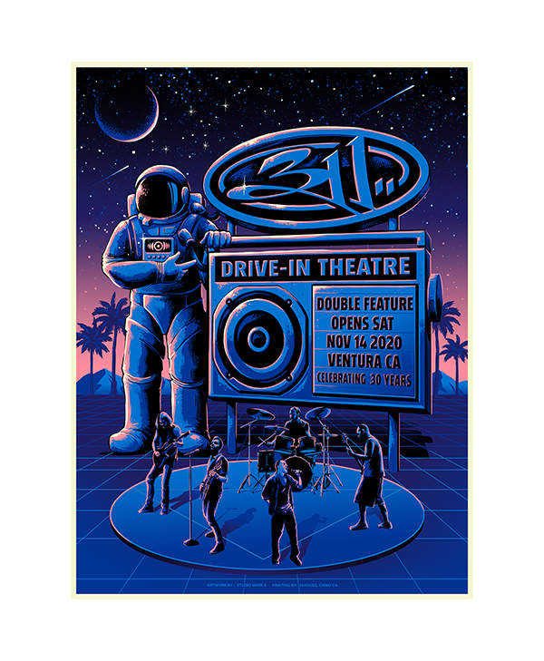 Ventura Drive-In Poster - Regular