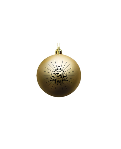 Gold Bulb Ornament