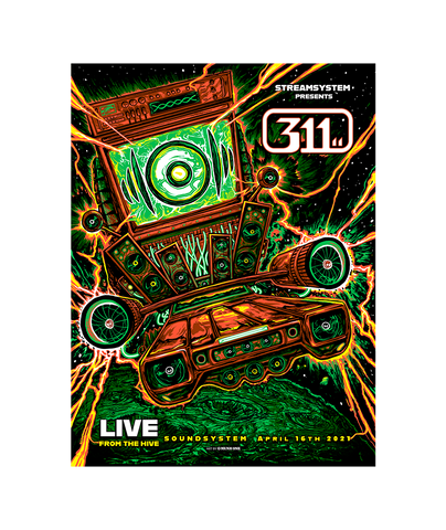 Soundsystem Event Poster - Regular (Pre-Order)