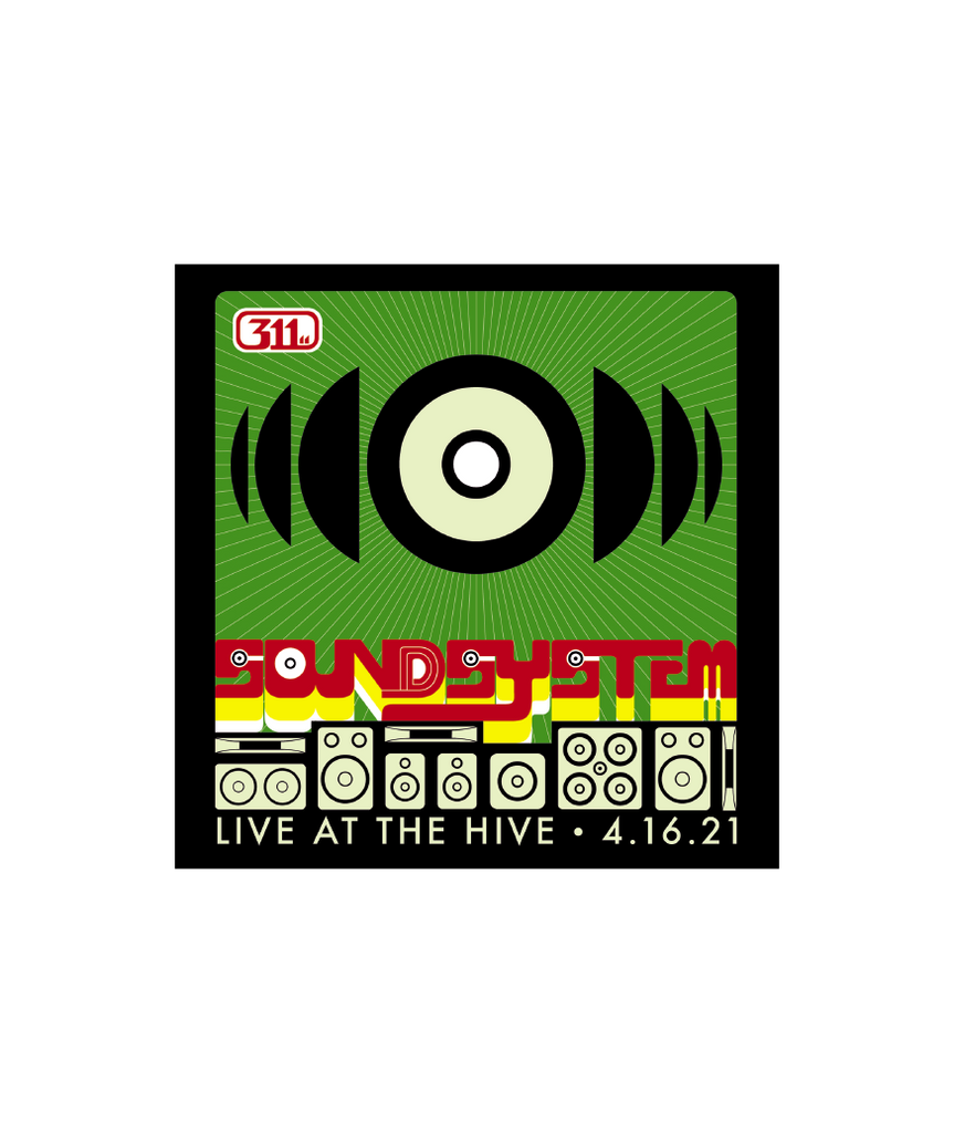 Soundsystem Event Sticker (Pre-Order)