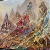 """Valley of ancestors"" original painting"