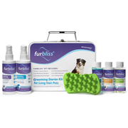 Furbliss® Dog & Cat Grooming and Bathing Kit for Pets with Long Hair