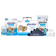 Glandex Anal Gland Starter Kit for Dogs and Cats