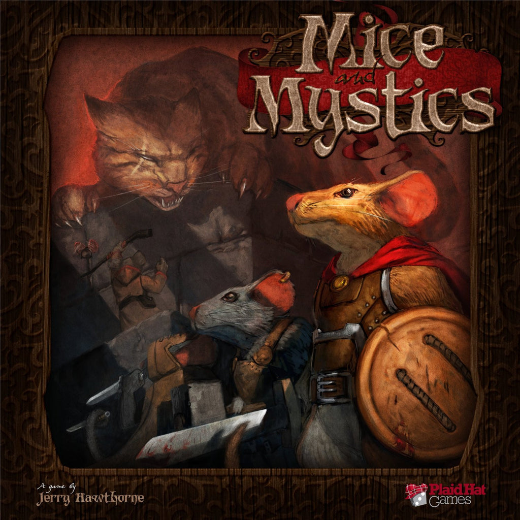 Plaid Hat Games - Mice And Mystics Board Game