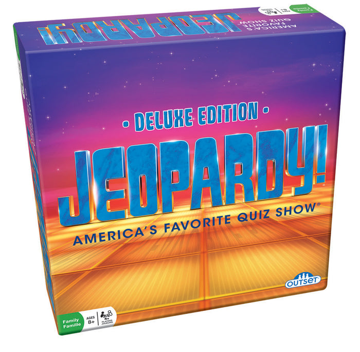 Outset Media - Jeopardy Deluxe Edition Game