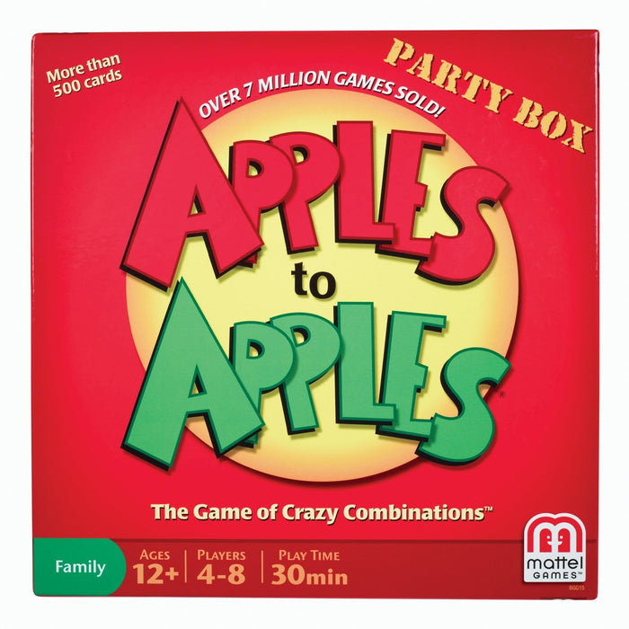 Mattel - Apples to Apples Party Box Game