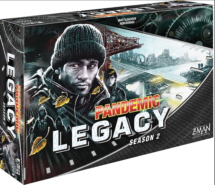 Z-Man - Pandemic: Legacy Season 2 (Stand Alone) (Black)