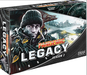 Z-Man - Pandemic: Legacy Black Board Game (Stand Alone)