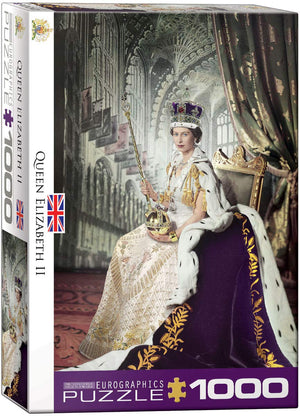 Eurographics  - Queen Elizabeth II, 1000 PC Puzzle