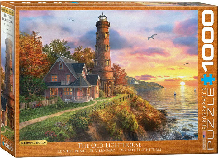 Eurographics  - The Old Lighthouse, 1000 PC Puzzle