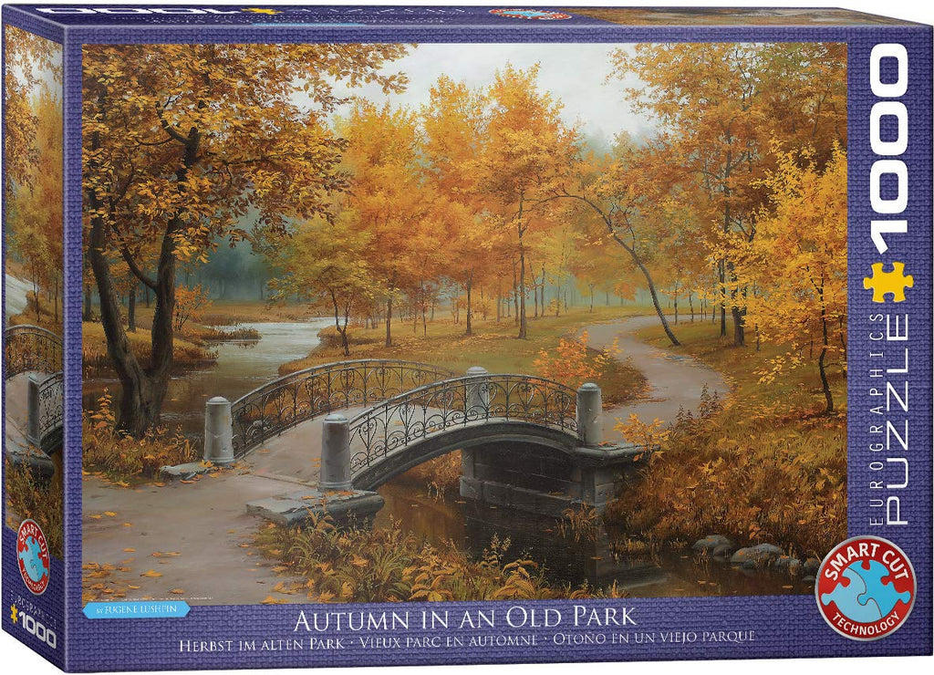 Eurographics  - Autumn in an Old Park, 1000 PC Puzzle
