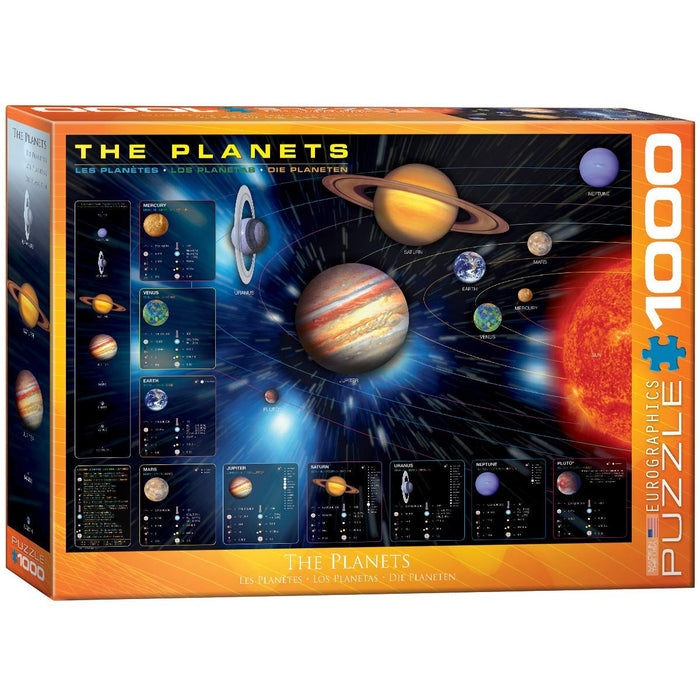 Eurographics  - The Planets, 1000 PC Puzzle