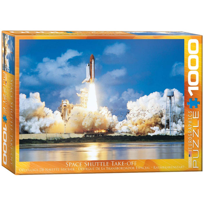 Eurographics  - Space Shuttle Take-off, 1000 PC Puzzle