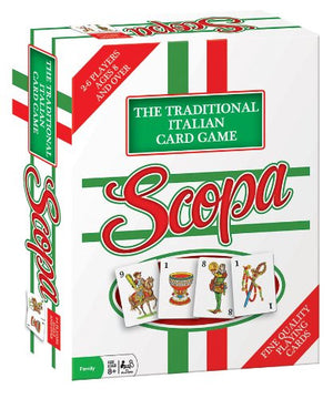 Outset Media - Scopa (Traditional Italian Card Game)
