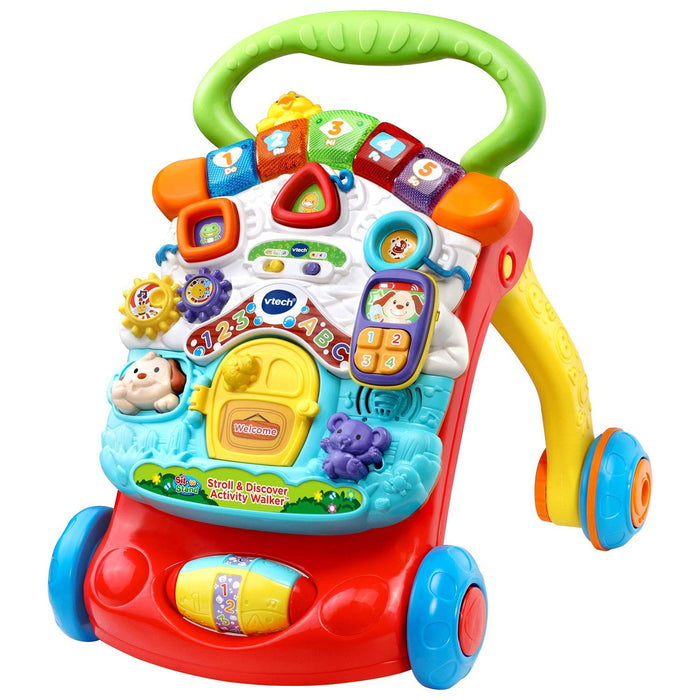 VTech Sit-to-Stand Stroll & Discover Activity Walker Toy