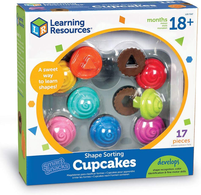 Learning Resources - Smart Snacks Shape Sorting Cupcakes Toy