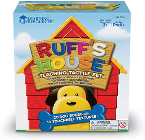 Learning Resources - Ruff's House Teaching Tactile Set
