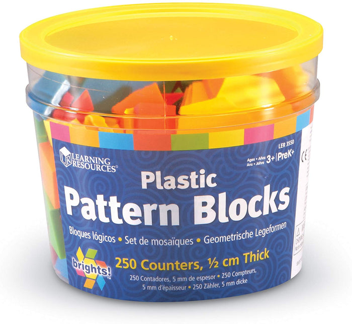 Learning Resources - Brights Pattern Blocks