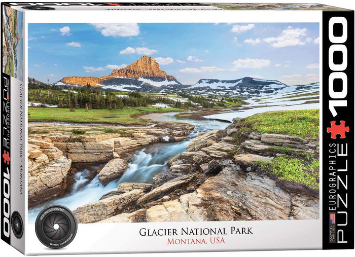 Eurographics - Glacier National Park, 1000 PC Puzzle