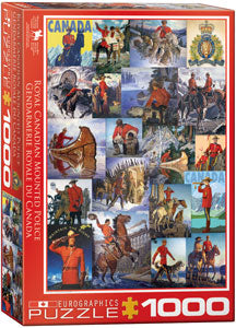 Eurographics  - RCMP Collage, 1000 PC Puzzle