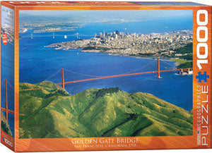 Eurographics  - Golden Gate Bridge San Francisco, 1000 PC Puzzle