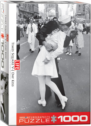 EuroGraphics - Kissing on VJ Day Life Magazine, 1000 PC Puzzle