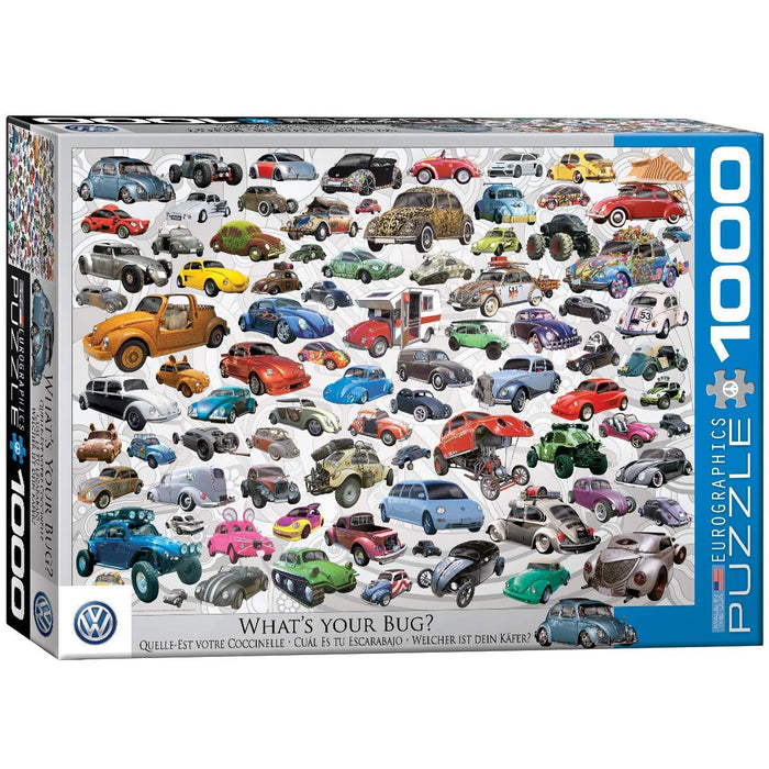 EuroGraphics - VW Beetle What's Your Bug, 1000 PC Puzzle