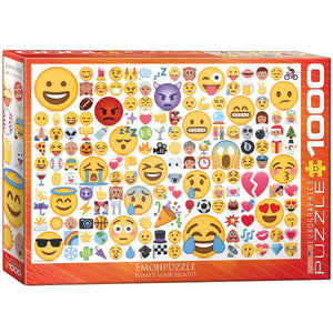 EuroGraphics - Emoji What's Your Mood, 1000 PC Puzzle