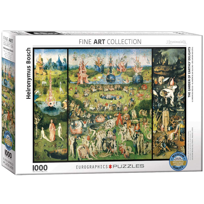 EuroGraphics - The Garden of Earthly Delights, 1000 PC Puzzle