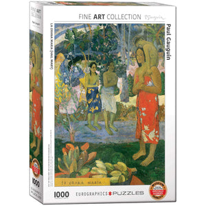 EuroGraphics - Hail Mary by Paul Gauguin, 1000 PC Puzzle