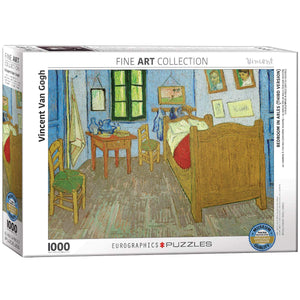 EuroGraphics - Bedroom at Arles by Vincent Van Gogh, 1000 PC Puzzle