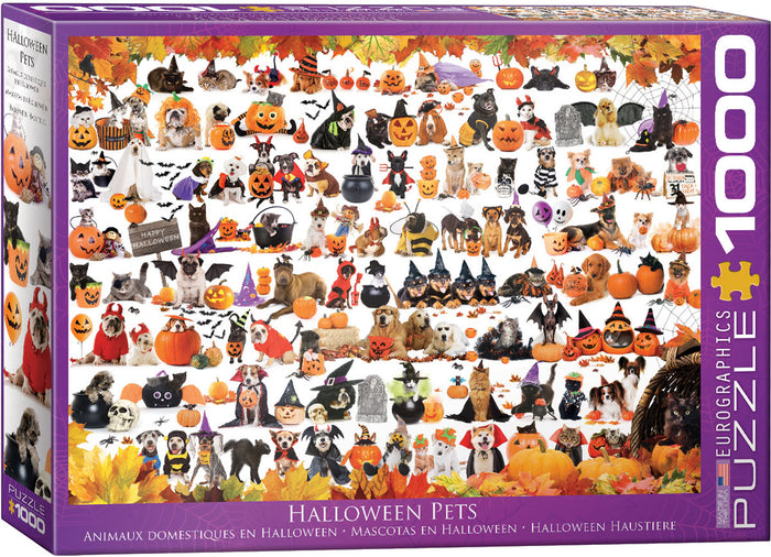 Eurographics  - Halloween Pets, 1000 PC Puzzle