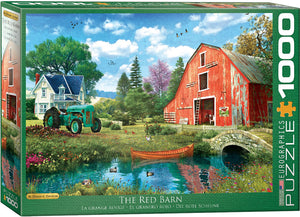Eurographics  - The Red Barn, 1000 PC Puzzle