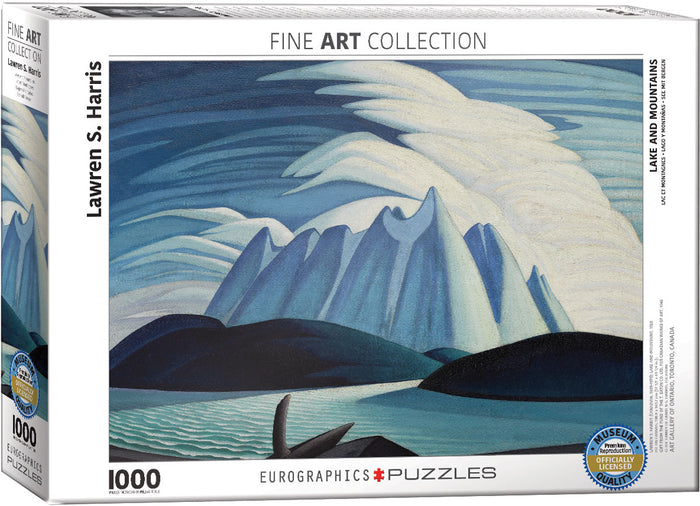 Eurographics - Lake and Mountains, 1000 PC Puzzle