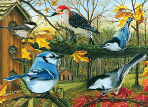 Cobble Hill - Blue Jay and Friends, 1000-Piece Puzzle