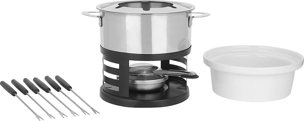 Trudeau - Maison Lotto 11 Piece Stainless Steel Fondue Set