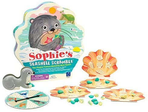 Educational Insights - Sophie'S Seashell Scramble