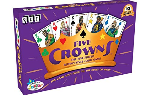 SET Enterprises - Five Crowns Card Game